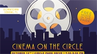 """FREE Movie at the Park with """"Cinema on the Circle"""" (Oct. 12)"""