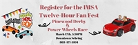 Kids Power Wheels Race and the Pinewood Derby - March 17 @ 5:30